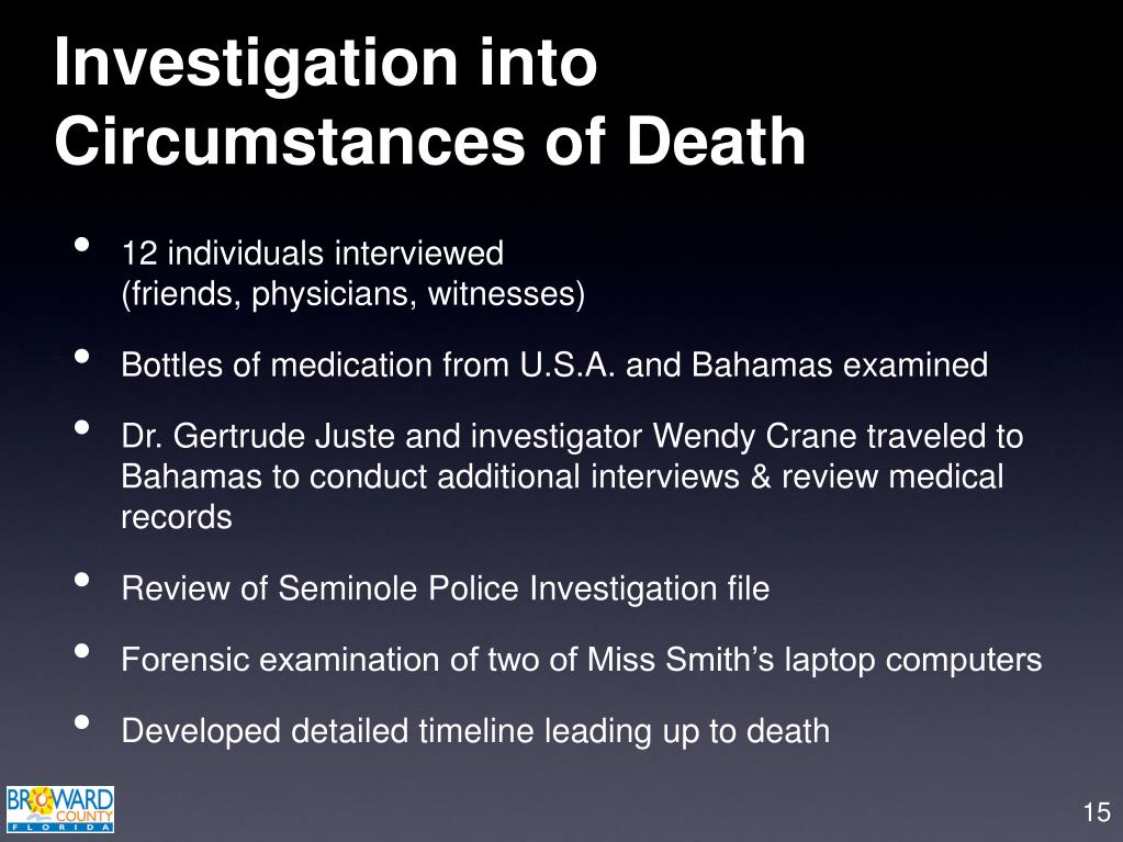 Investigation into