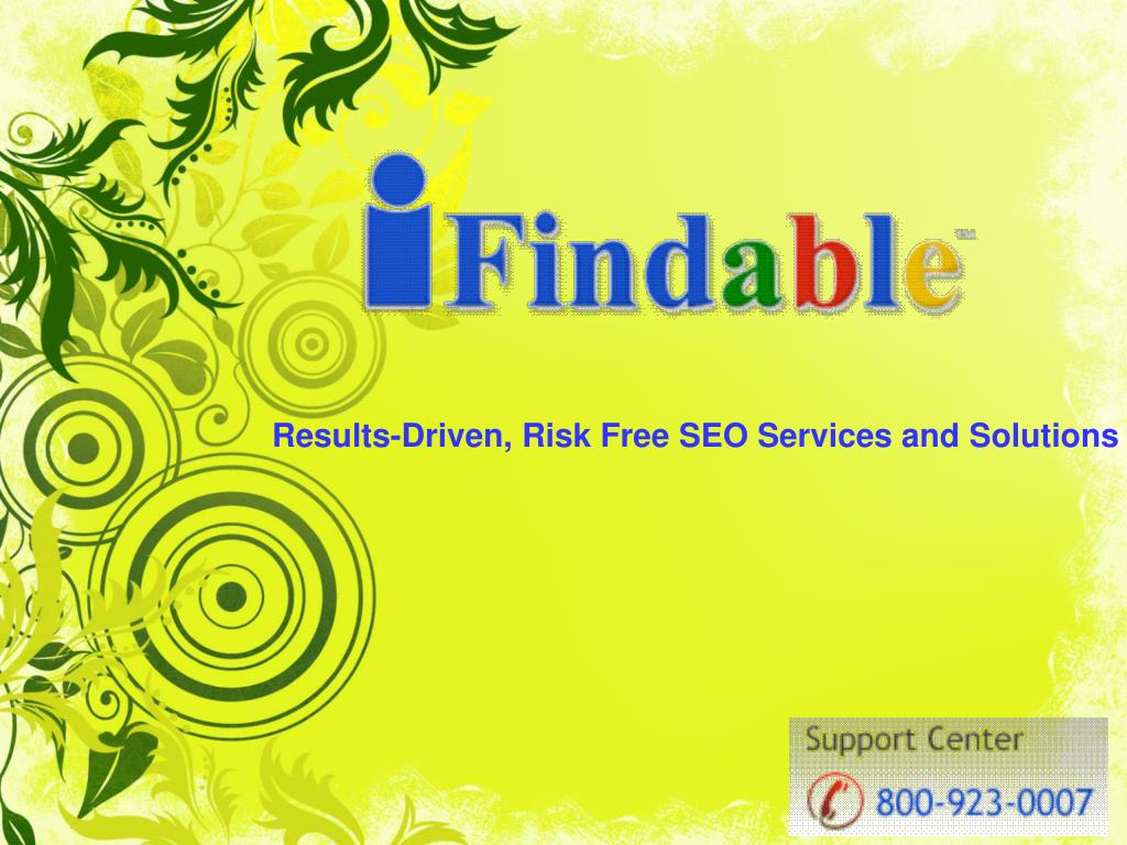Results-Driven, Risk Free SEO Services and Solutions