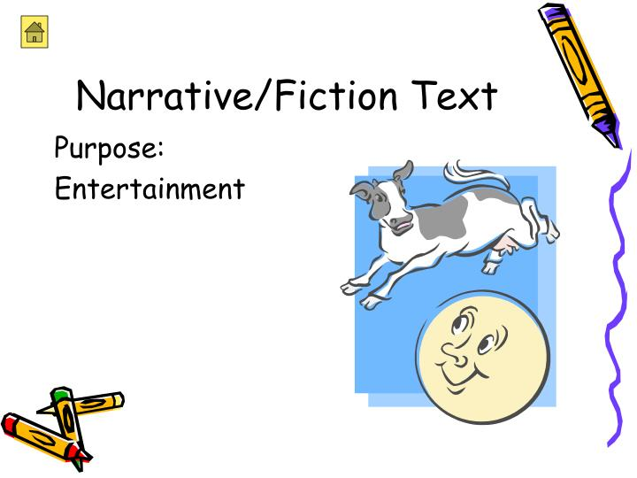 Narrative fiction text