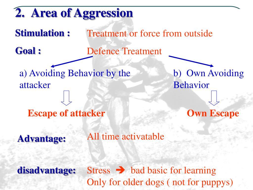 2.Area of Aggression