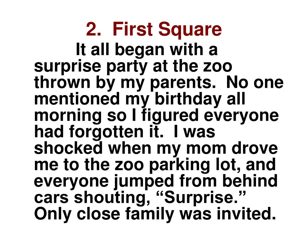 2.  First Square