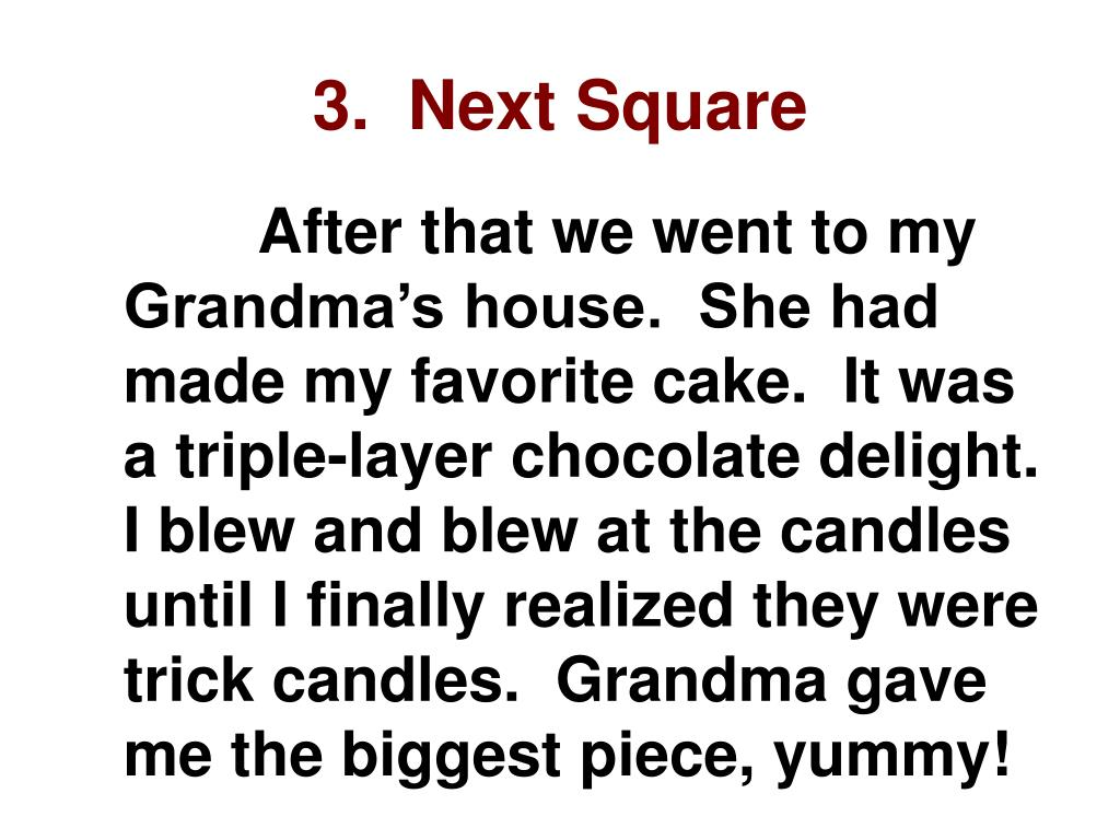 3.  Next Square