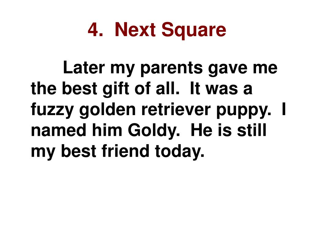 4.  Next Square