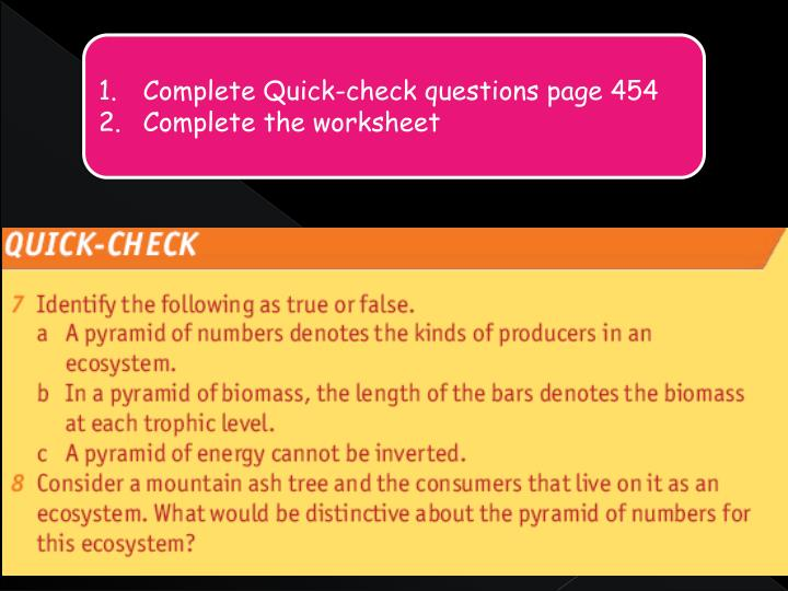 Complete Quick-check questions page 454