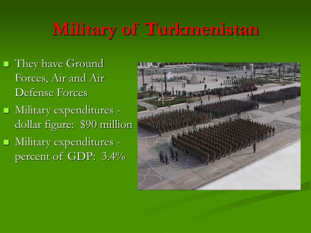 Military of Turkmenistan