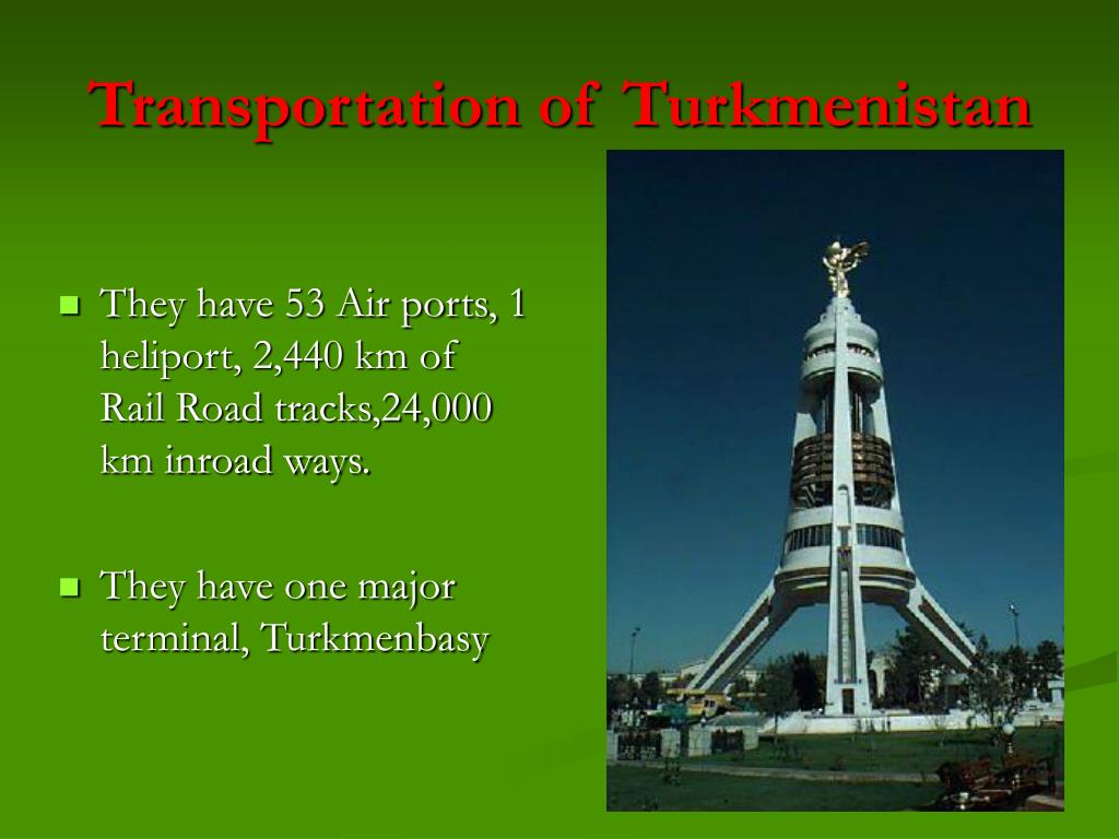 Transportation of Turkmenistan