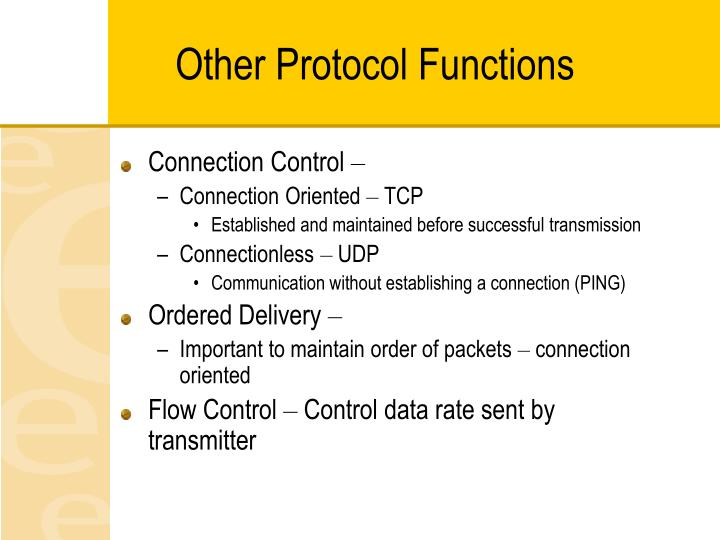 Other Protocol Functions