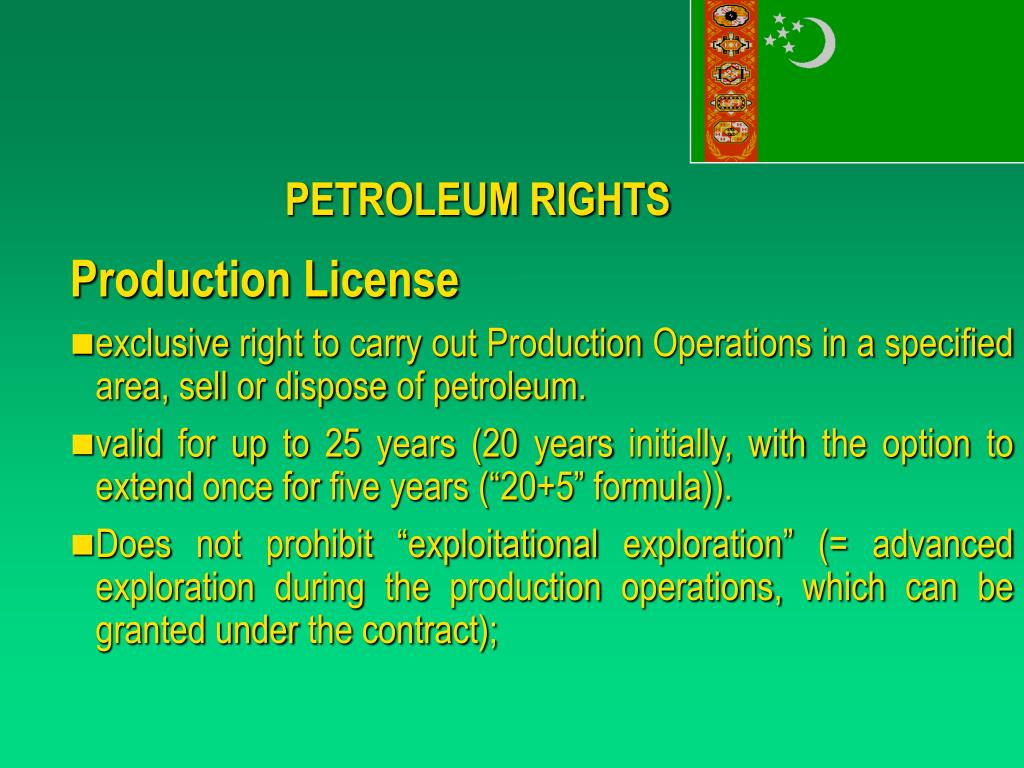 PETROLEUM RIGHTS