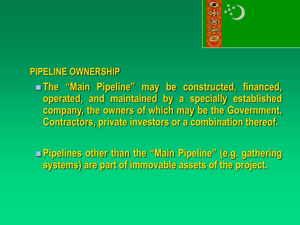 PIPELINE OWNERSHIP