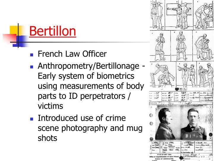 Bertillon