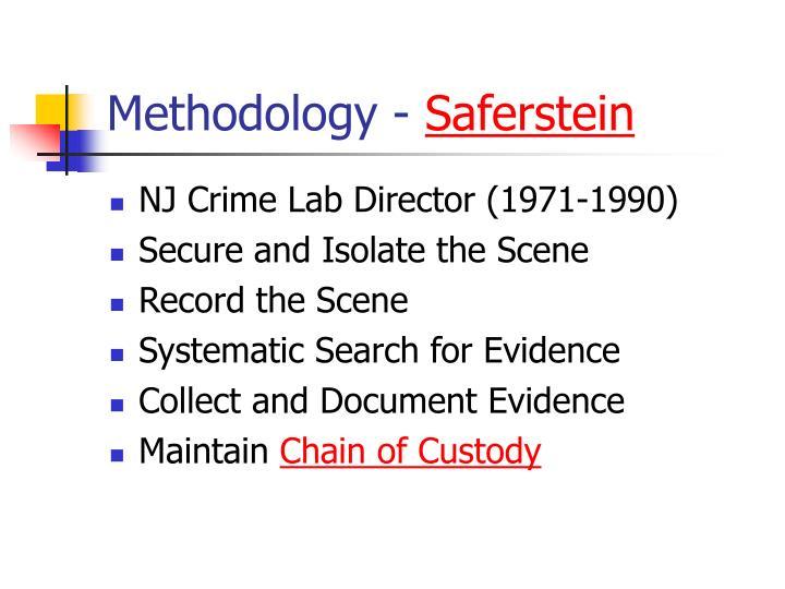 Methodology -
