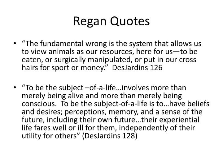 Regan Quotes