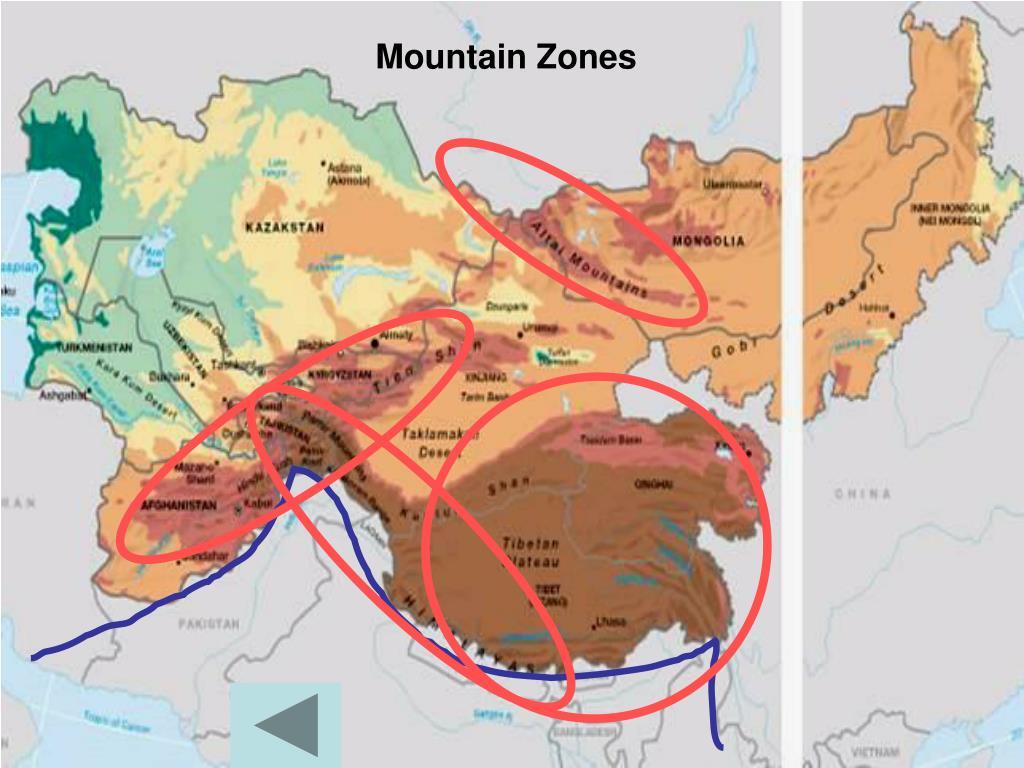 Mountain Zones