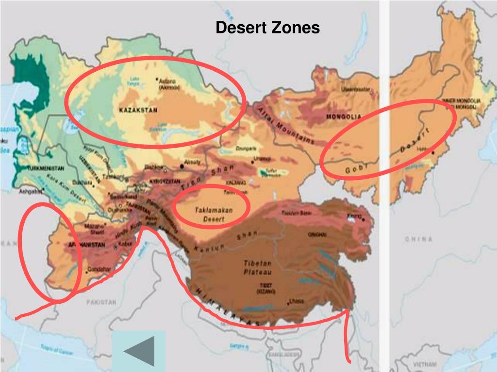 Desert Zones