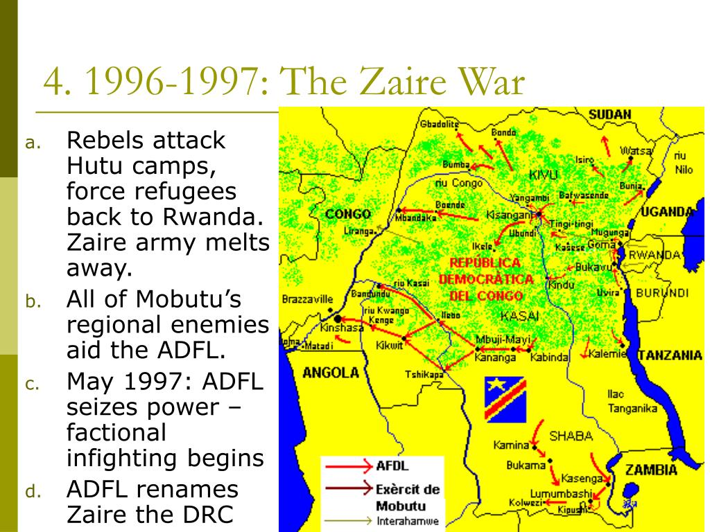 4. 1996-1997: The Zaire War