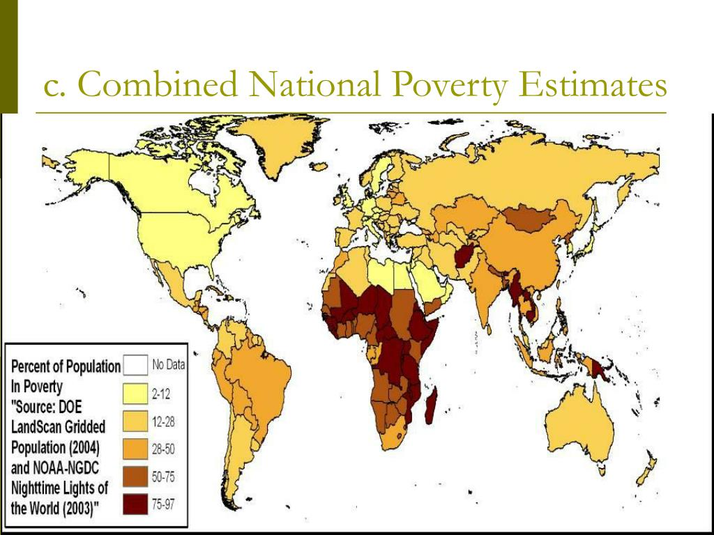 c. Combined National Poverty Estimates