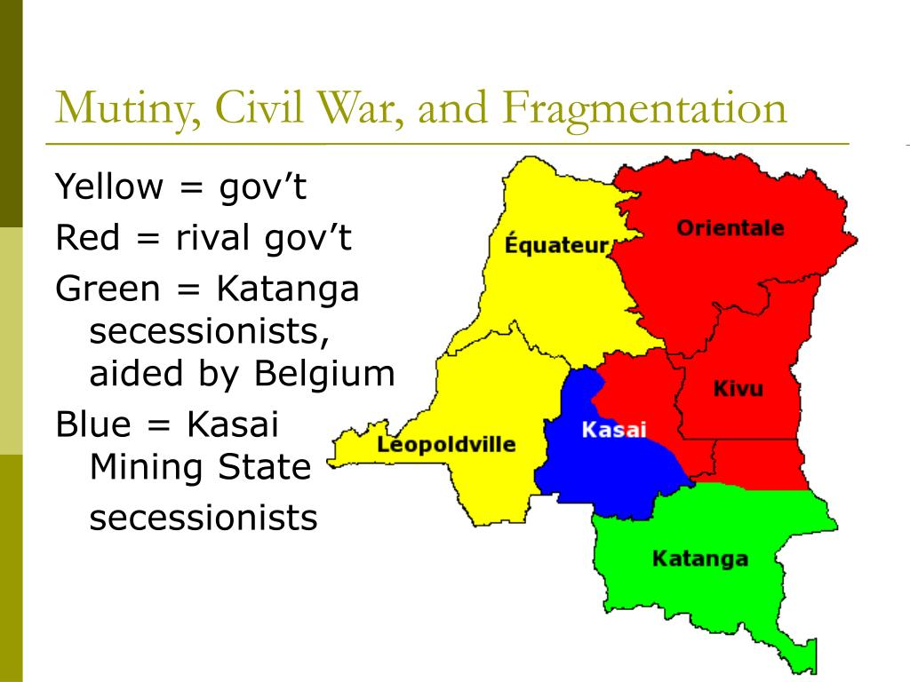Mutiny, Civil War, and Fragmentation