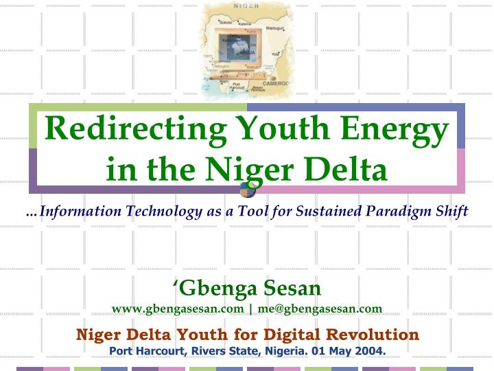 Redirecting youth energy in the niger delta l.jpg