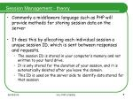 session management theory