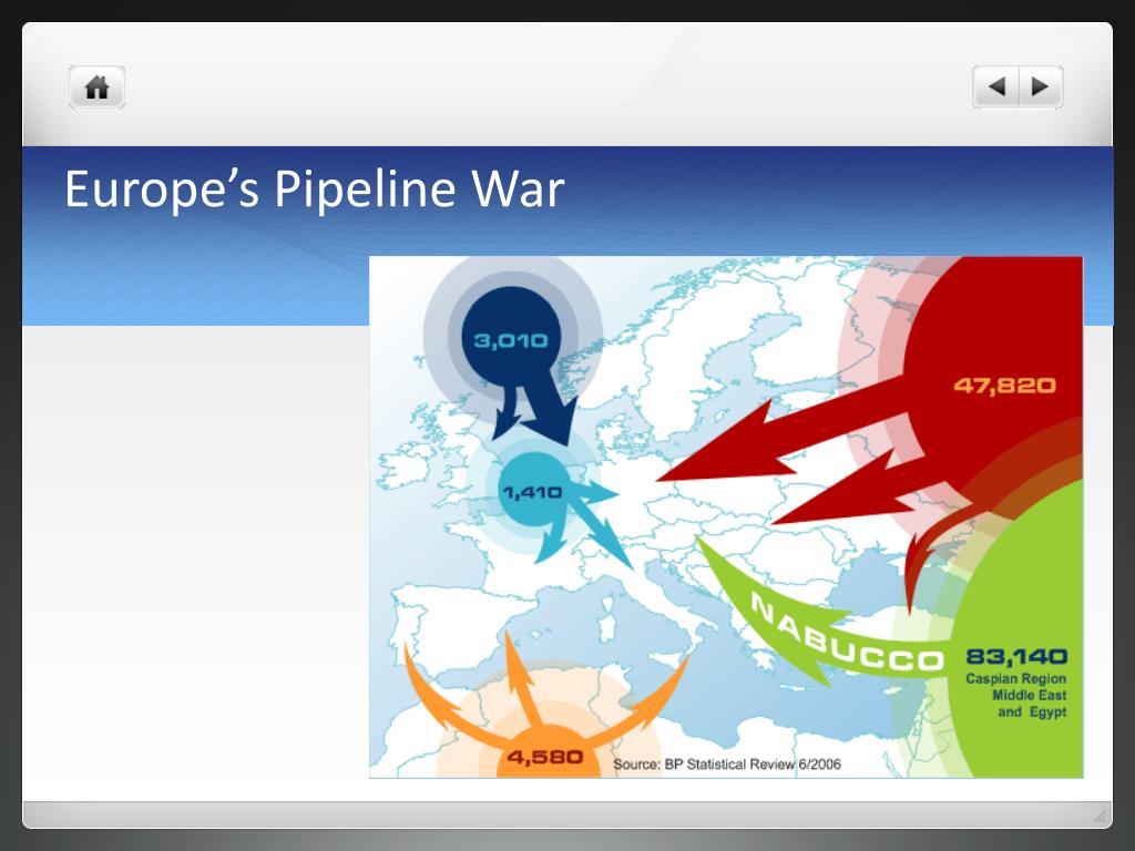 Europe's Pipeline War