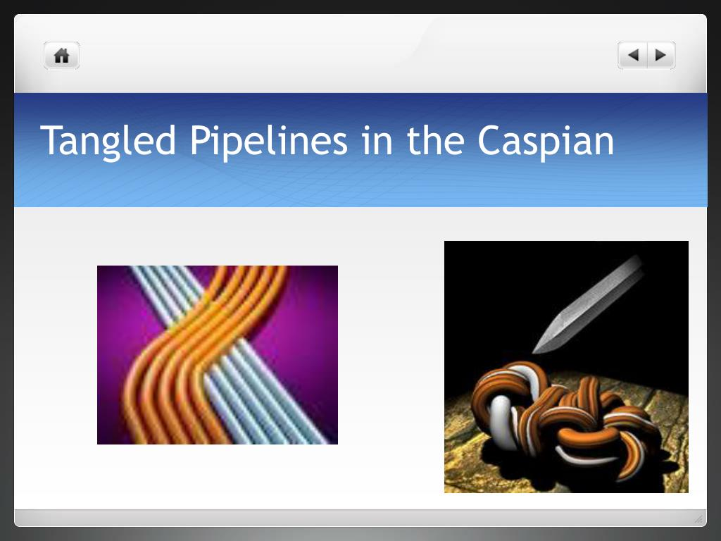 Tangled Pipelines in the Caspian