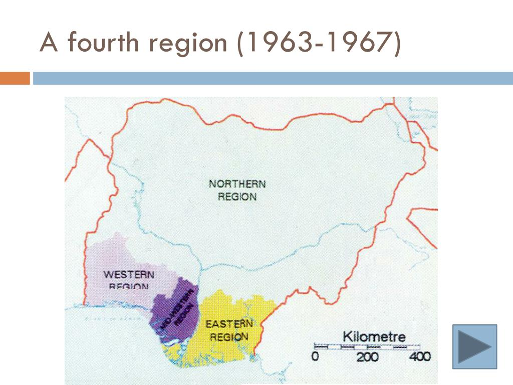 A fourth region (1963-1967)