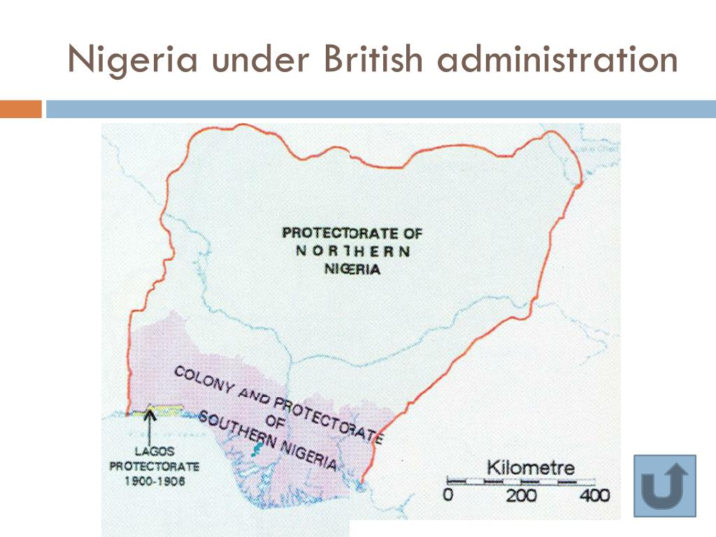 Nigeria under British administration