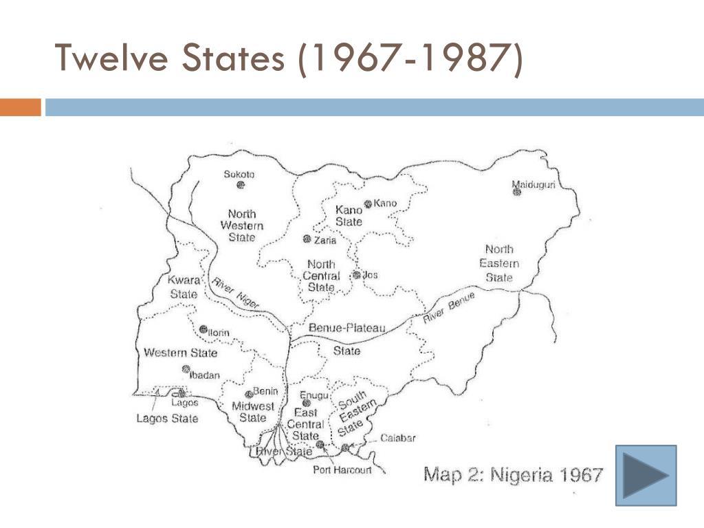 Twelve States (1967-1987)