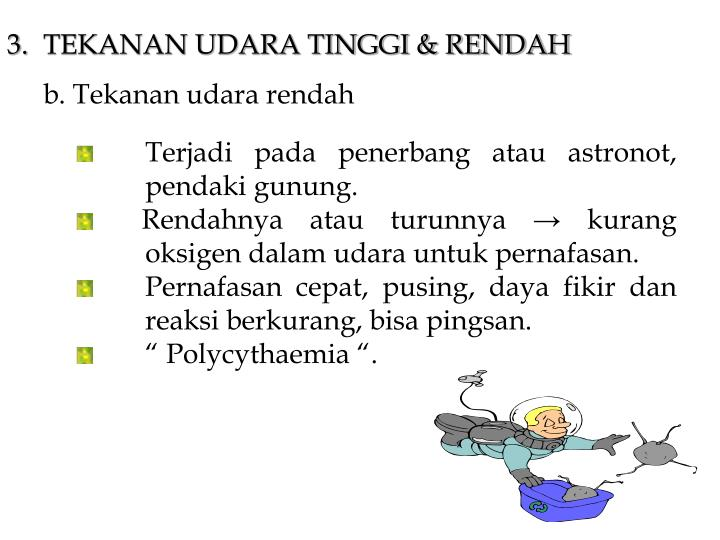 3.TEKANAN UDARA TINGGI & RENDAH
