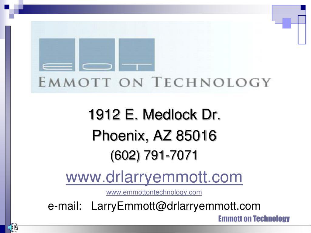 1912 E. Medlock Dr.