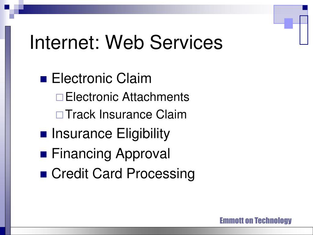 Internet: Web Services