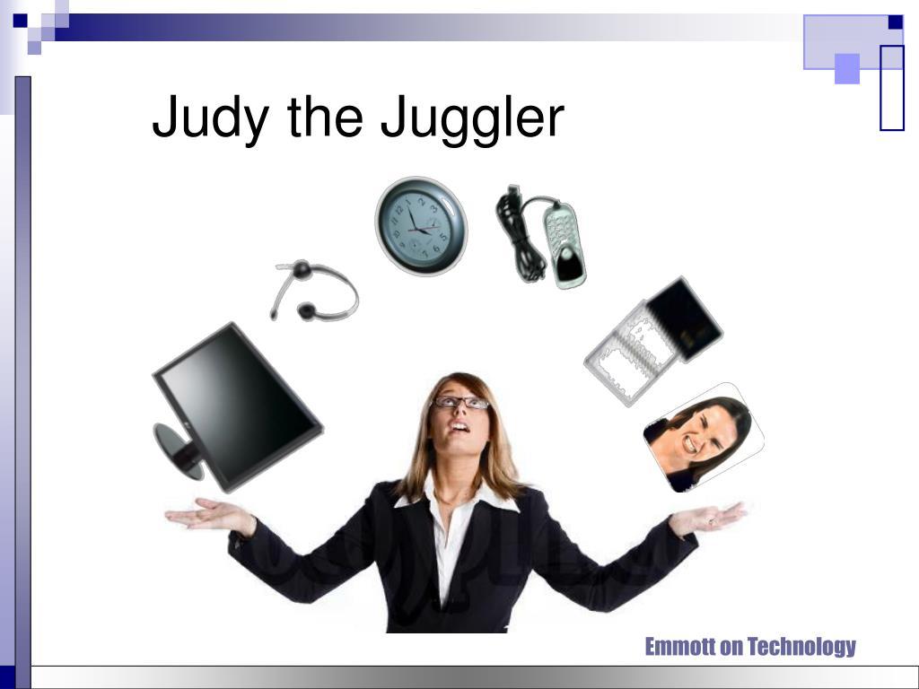 Judy the Juggler