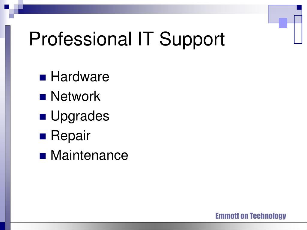 Professional IT Support