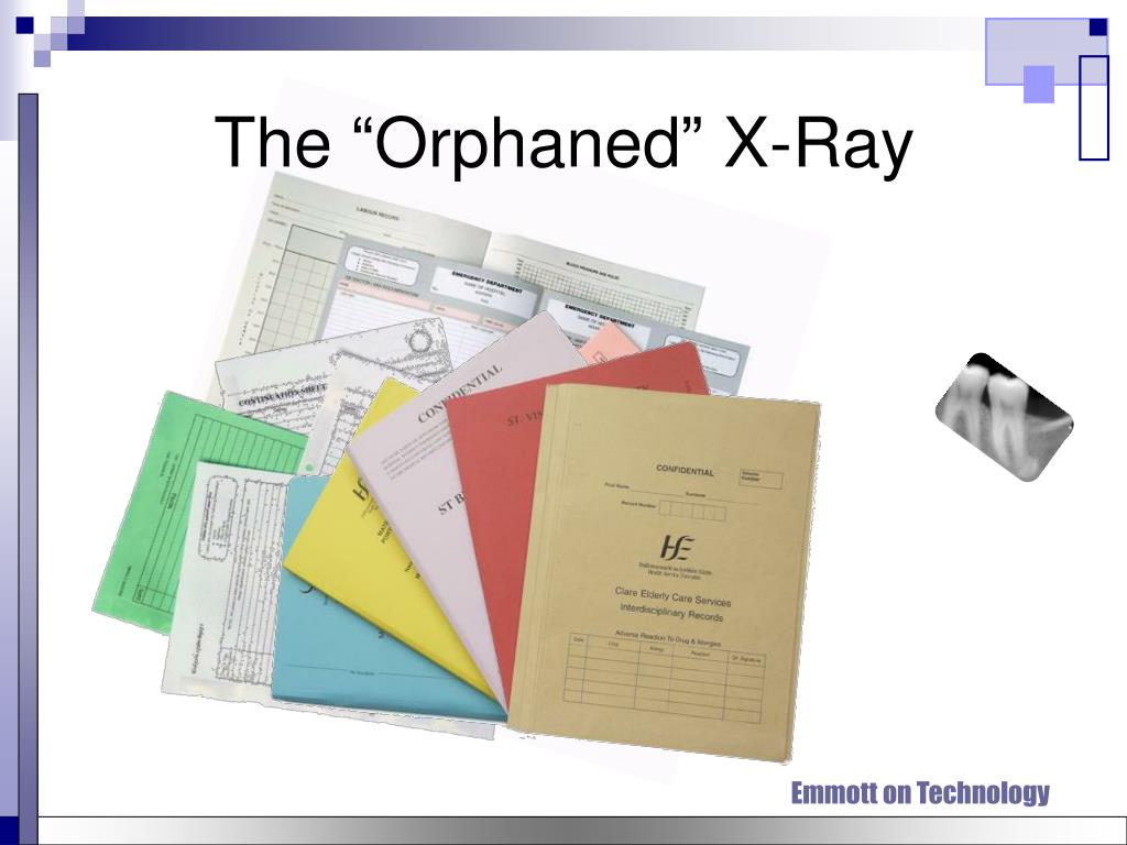 "The ""Orphaned"" X-Ray"