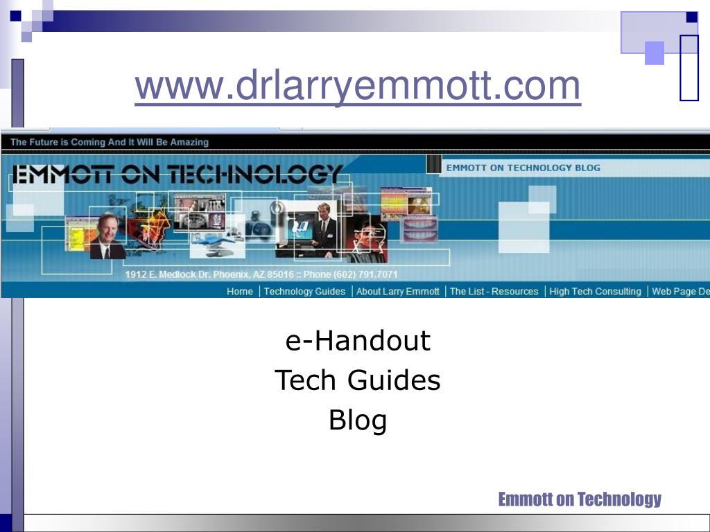 www.drlarryemmott.com