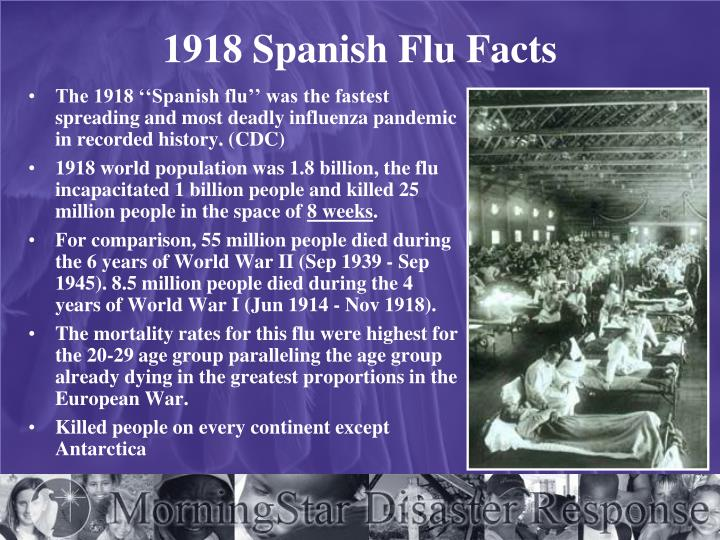 1918 Spanish Flu Facts
