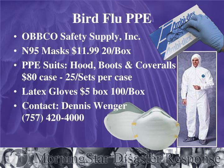 Bird Flu PPE