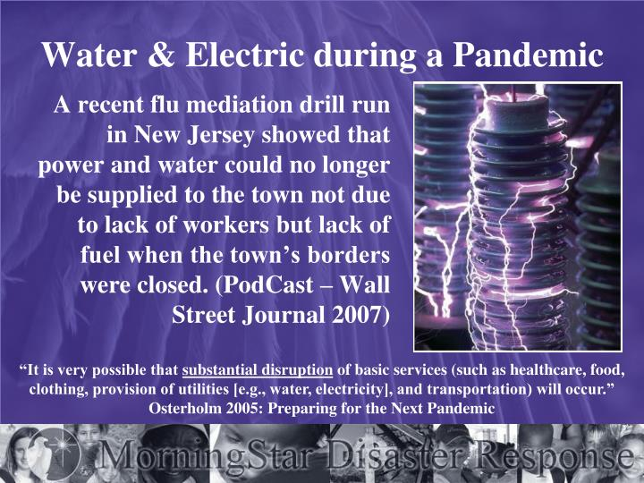 Water & Electric during a Pandemic