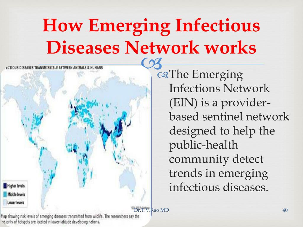 How Emerging Infectious Diseases Network works