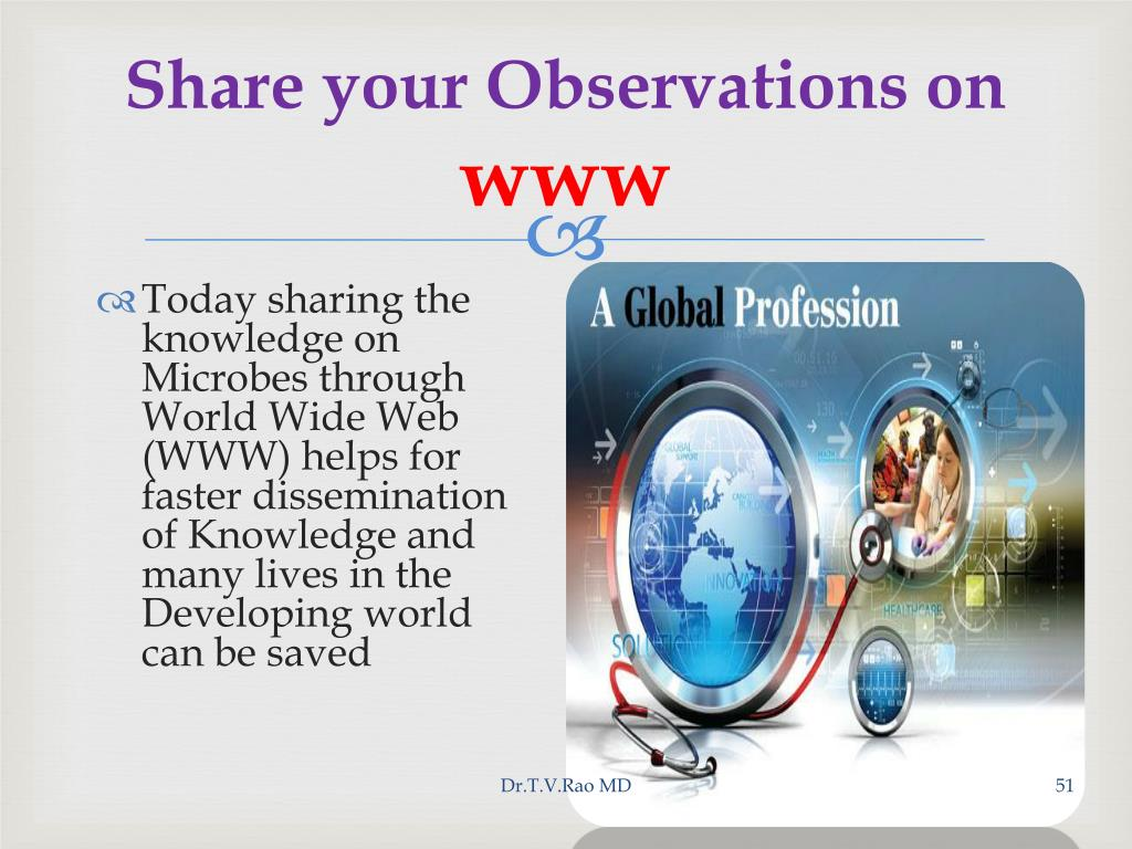 Share your Observations on