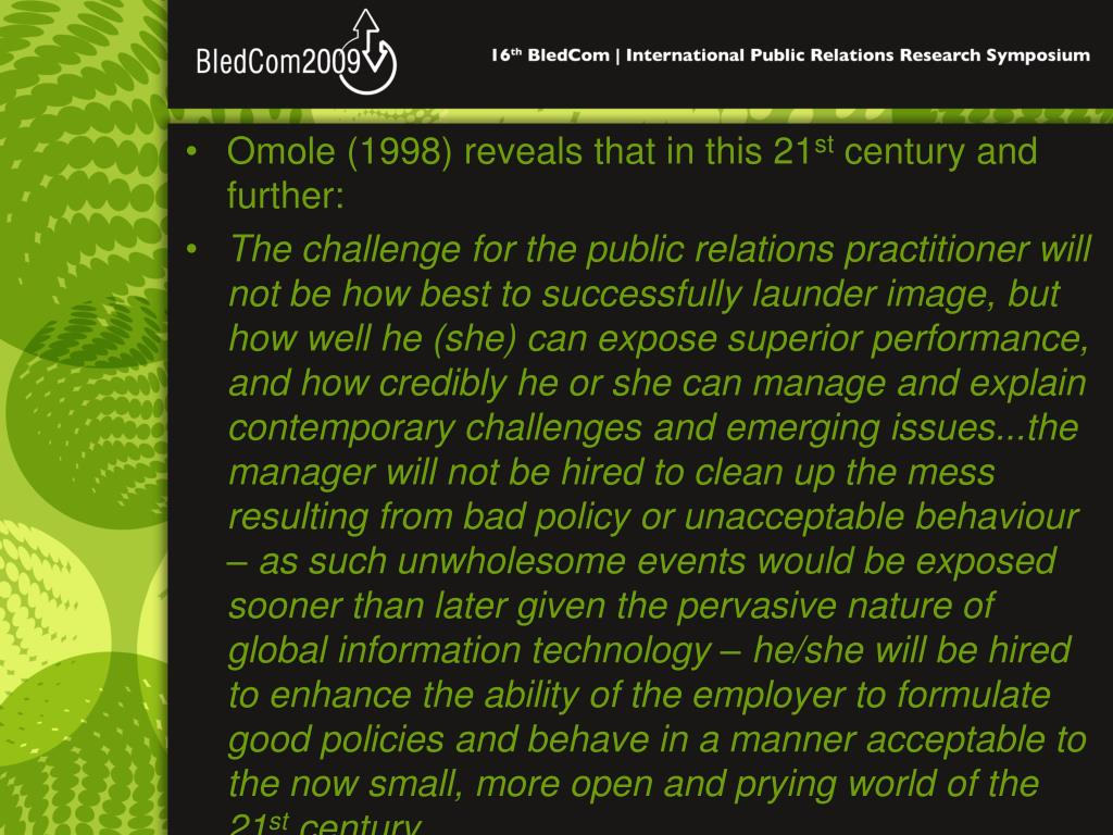 Omole (1998) reveals that in this 21