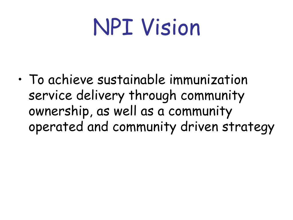 NPI Vision