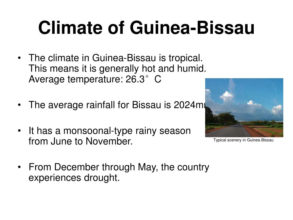 Climate of Guinea-Bissau