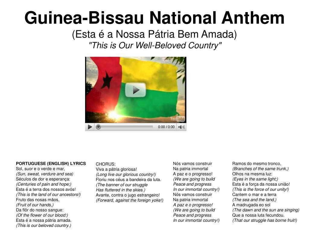 Guinea-Bissau National Anthem