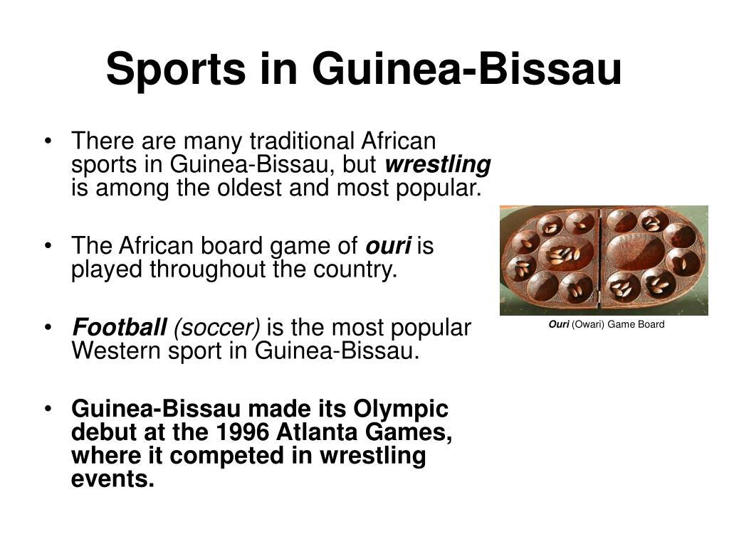 Sports in Guinea-Bissau