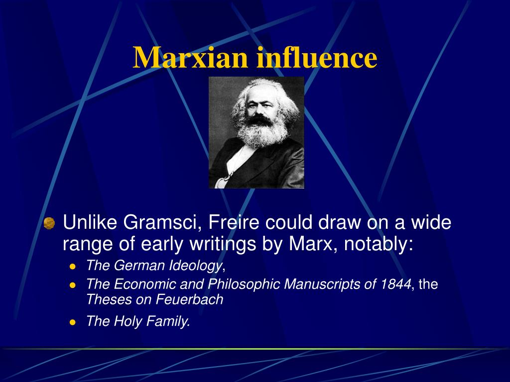 Marxian influence