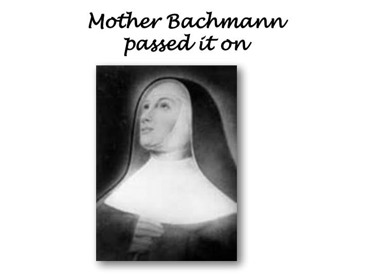 Mother Bachmann