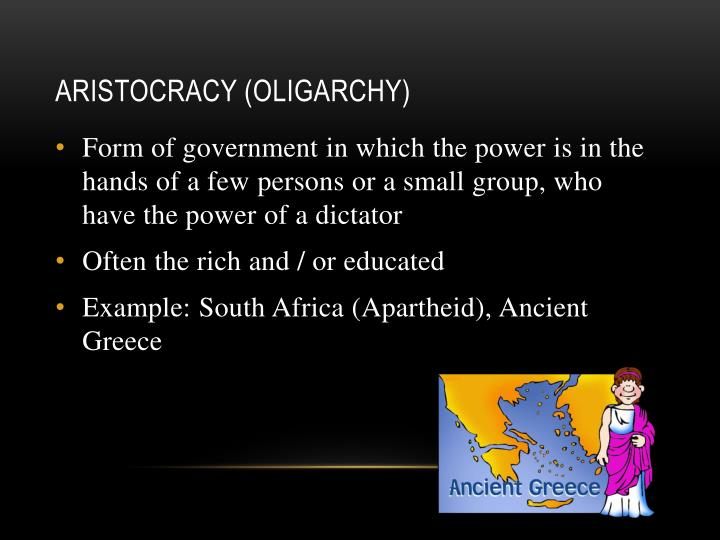 Aristocracy (Oligarchy)