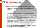 fox systems inc7