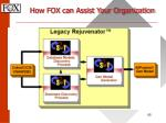 how fox can assist your organization65